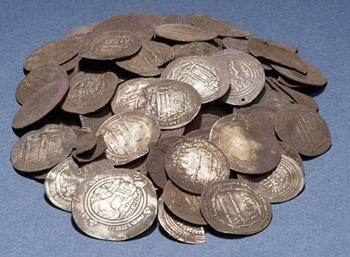 обнаружены сокровища викингов