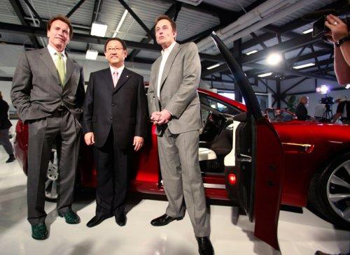 Альянс Toyota & Tesla.