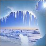 Стремительно тает лёд.
