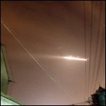 НЛО над аэропортом.