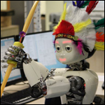 Учеными был создан робот который умеет стрелять из лука.