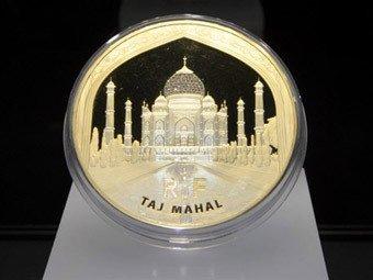 Золотая монета номиналам в 100 тысяч евро, была выпущена по Франции