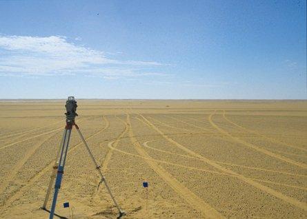 Несколько сот тысяч лет назад в Сахаре существовало огромное озеро.