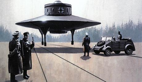 Инженеры Третьего Рейха попытались «обскакать» даже инопланетян