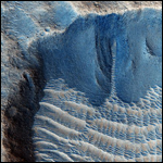 Новые доказательства существования воды на Марсе