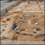 Японские археологи обнаружили древнею стену