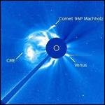 SOHO нашел двухтысячную комету