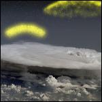 Гроза создает в атмосфере антивещества