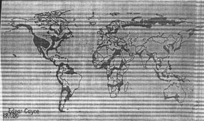 Постапокалиптические карты Земли, что будет после всех тех бед, что нам пророчат