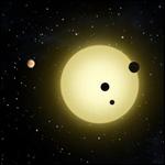 Была обнаружена планетарная система похожая на Солнечную