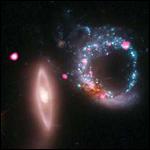 Астрономы сфотографировали кольцо из черных дыр