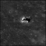 На Луне была обнаружена пещера
