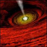 Ученые научились наблюдать за черными дырами с Земли
