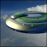 Самолет чуть не столкнулся с инопланетным кораблем