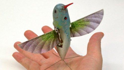 Робот-колибри попадет на вооружение американской армии