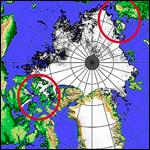 Северный полюс убегает из Канады в Россию