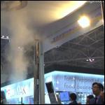 Вихревой поток очистит от дыма место для курения