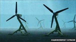 Шотландия планирует построить в проливе Айла крупнейшую электростанцию, работающую на приливном течении