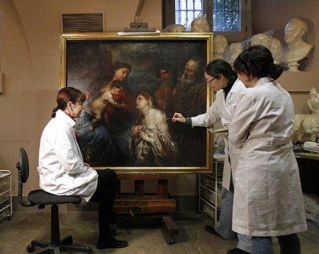 В Испании была обнаружена картина Антона Ван Дейка