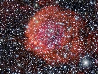 Астрономы обнаружили космическую розу