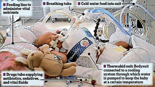 Холод спас новорожденного ребенка