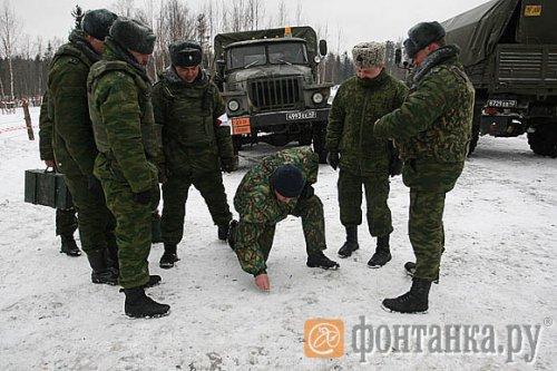 Виноваты ли военные в толчках на севере Петербурга
