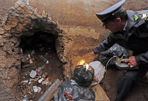 Древнеримский мавзолей был обнаружен под незаконной токсичной свалкой