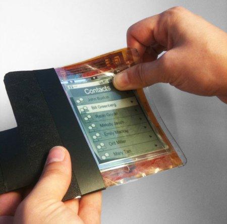Специалисты из Human Media Lab разработали гибкий телефон