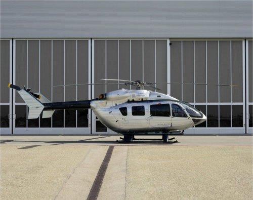 Вертолет Eurocopter EC145 Mercedes-Benz Style