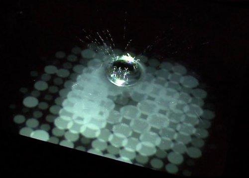 Сенсорный водный дисплей был создан в Японии