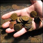 Итальянские археологи подняли с морского дна 3 422 карфагенские бронзовые монеты