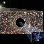 Астрофизики США объявили о том, что в удаленных галактиках им удалось найти две черных дыры, по массе превосходящие все подобные области, известные до сих пор