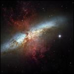 Что-то странное происходит в соседней галактике Сигара