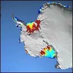 Тёплые морские течения - главная причина таянья льдов Антарктики