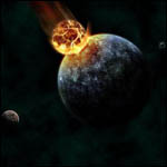 4,5 миллиарда лет назад в Землю врезалось космическое тело размером с Марс