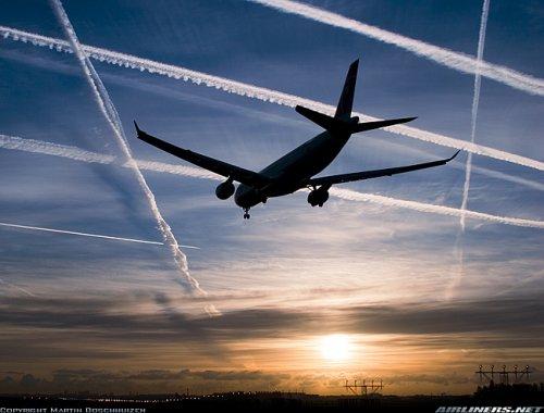 Следы от самолета влияют на нервную систему
