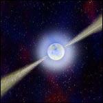 Международная группа астрономов  особенности в излучении пульсара