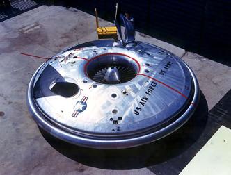 ША впервые опубликовал чертежи секретной сверхзвуковой летающей тарелки