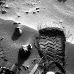 """Блестящий объект, обнаруженный """"Кьюриосити"""", оказался фрагментом марсохода"""