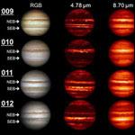 Юпитер непрерывно поглощает небольшие космические тела
