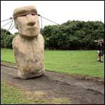 Американские антропологи реконструировали перемещение статуй с острова Пасхи