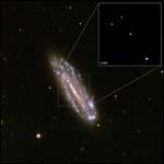 Обнаружили самую маломассивную из сверхмассивных чёрных дыр