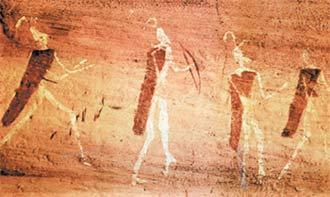 Загадочные люди белой расы живут в горах Атласа на севере Африки