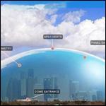 В Астане предложили накрыть часть города гигантским прозрачным куполом