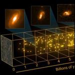 Найден ряд новых галактик