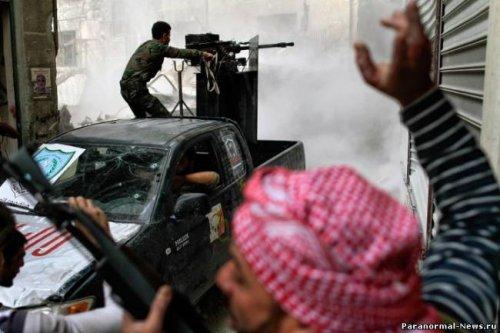 Сирия - начало 3 мировой