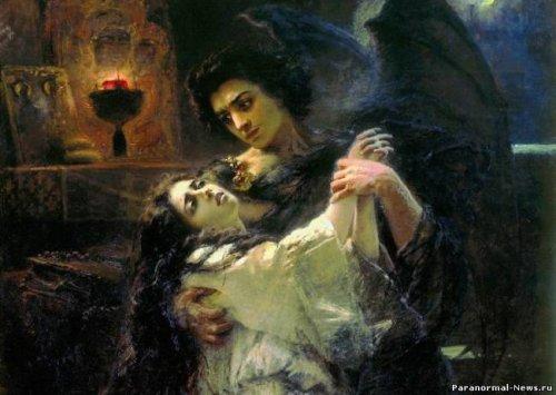 Когда женщина спит одна, о ней думает дьявол