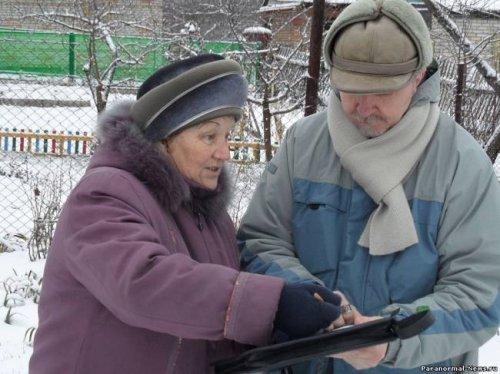 НЛО прилетел к пенсионерки из Пемзы
