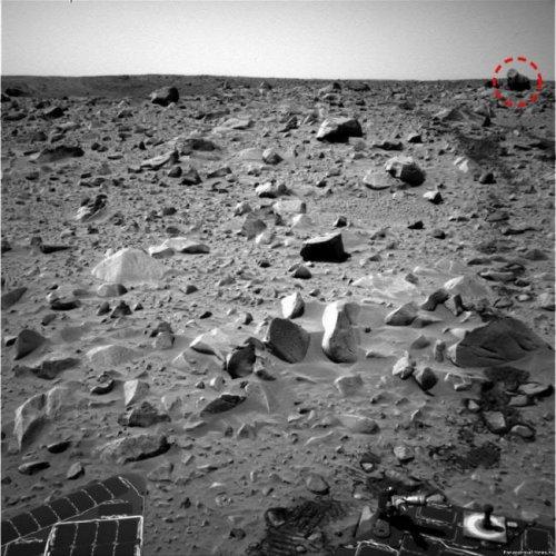 На Марсе увидели гориллу