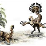 Oviraptor могли использовать свой необычный хвост для привлечения внимания потенциального партнера